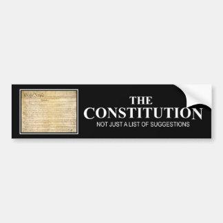 The Constitution Bumper Sticker
