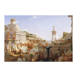 The Consummation of Empire by Thomas Cole (1836) Canvas Print