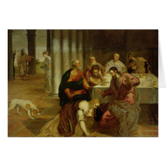 The Conversion of Mary Magdalene, 1546-7 Card