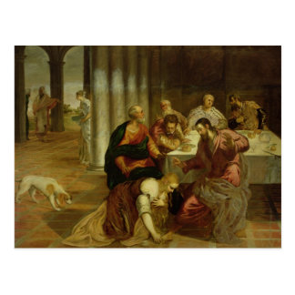 The Conversion of Mary Magdalene, 1546-7 Postcard