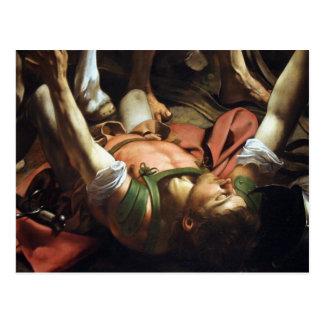 The Conversion of Saul Postcard