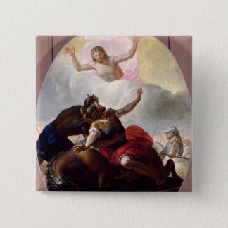The Conversion of St. Paul 2 Inch Square Button