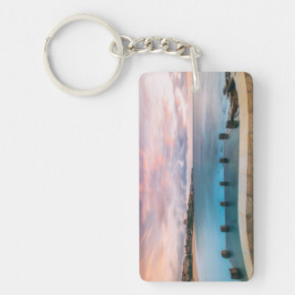 The Coogee Stonewall Double-Sided Rectangular Acrylic Keychain