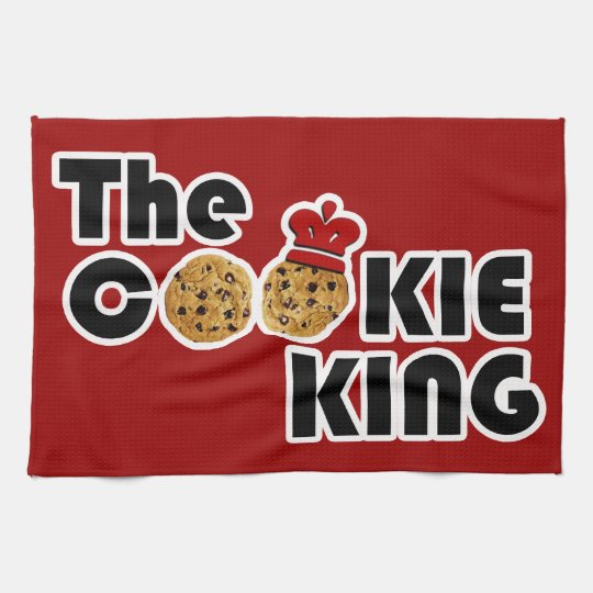 The Cookie King Kitchen Towel