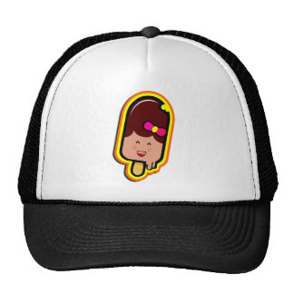 The Cool Sweet Stuff - cute girl ice cream Trucker Hat