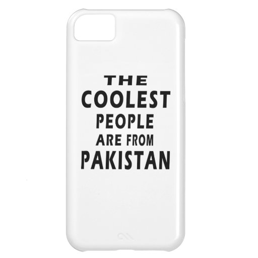 The Coolest People Are From Pakistan Cover For iPhone 5C
