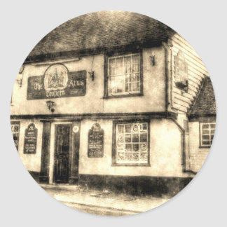 The Coopers Arms Pub Rochester Vintage Classic Round Sticker