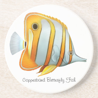 The Copperband Butterfly Fish Coaster
