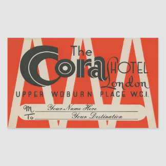 The Cora Hotel (London) Sticker