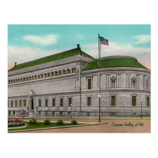 The Corcoran Gallery of Art Postcard