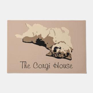The Corgi House Doormat