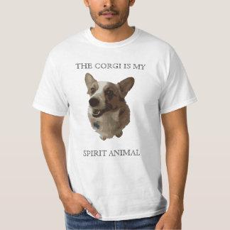 The Corgi is my Spirit Animal T-Shirt