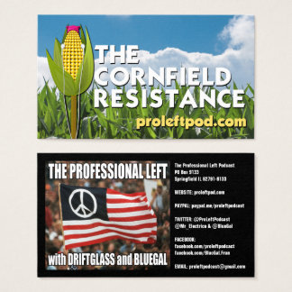 The Cornfield Resistance - Website Cards