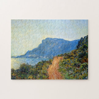The Corniche of Monaco Monet Fine Art Jigsaw Puzzle