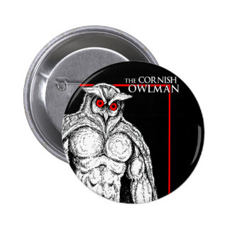 The Cornish Owlman 2 Inch Round Button