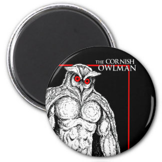 The Cornish Owlman Magnet
