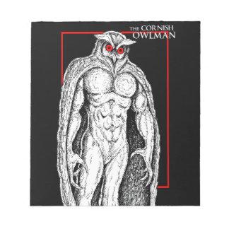 The Cornish Owlman Notepad