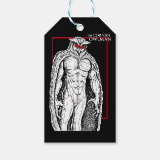 The Cornish Owlman Pack Of Gift Tags