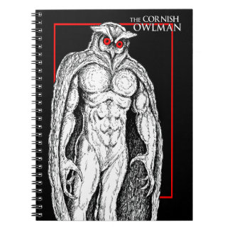 The Cornish Owlman Spiral Notebooks