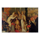 The Coronation of Charles V  Holy Roman Emperor Poster