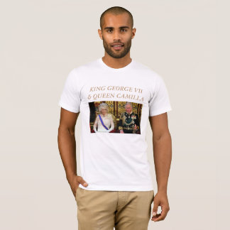 The Coronation of King George VII & Queen Camilla T-Shirt