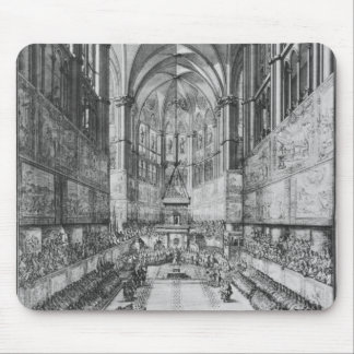 The Coronation of Louis XIV in Reims cathedral Mouse Pad