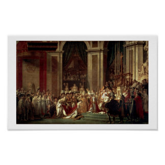 The Coronation of Napoleon, (1806) Poster