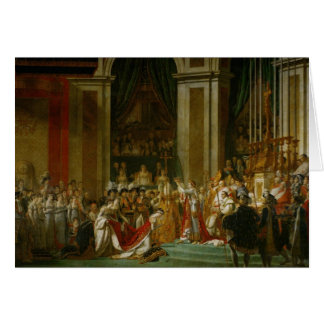 The Coronation of Napoleon Greeting Card