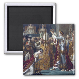 The Coronation Of Napoleon Jean Auguste Dominique Magnet