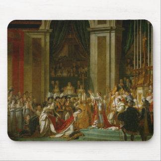 The Coronation of Napoleon Mouse Pad