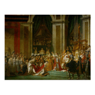 The Coronation of Napoleon Postcard