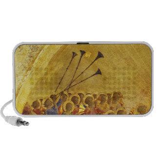 The Coronation of the Virgin iPod Speakers