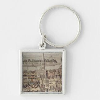 The Coronation Procession of King Edward VI Keychain