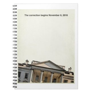 The Correction Begins  11-8-2016 Note Books