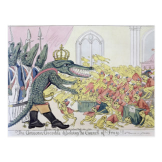 The Corsican Crocodile Postcard