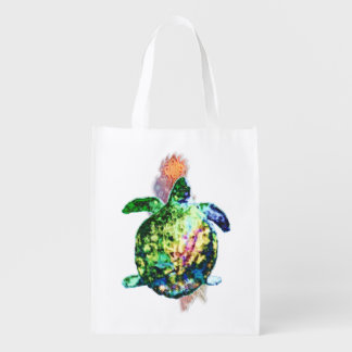 The Cosmic Color Bringer Reusable Grocery Bag