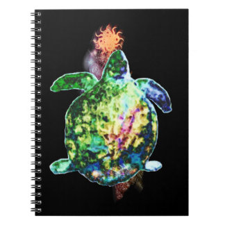 The Cosmic Color Bringer Spiral Notebook