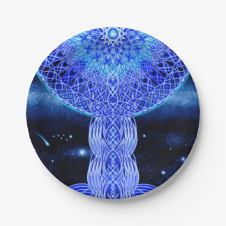 The Cosmic Cross 7 Inch Paper Plate
