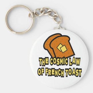 The Cosmic Law of French Toast Keychain