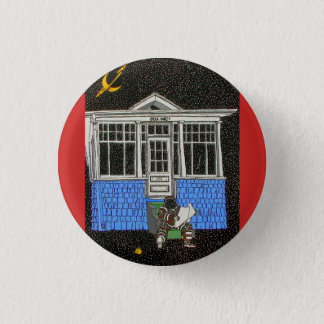THE COSMIC SCOTSMAN 1 INCH ROUND BUTTON