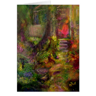 """The Cottage"" Art notecard"