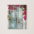The Cottage Door Jigsaw Puzzle