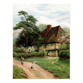 The Cottage Postcard
