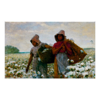 The Cotton Pickers [Homer] Poster