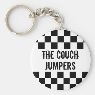 The Couch Jumpers Keychain