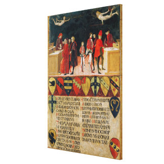 The Council Finances in Times of War and of Stretched Canvas Prints