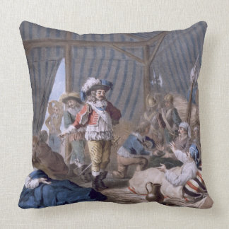 The Count of Harcourt 1601-66 shows his humanity Pillow