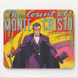 The Count of Monty Cristo Comic Mouse Pads