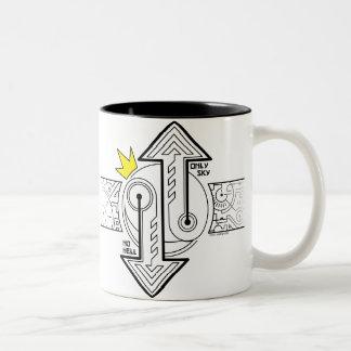 The Counterbalance (mug) Two-Tone Coffee Mug
