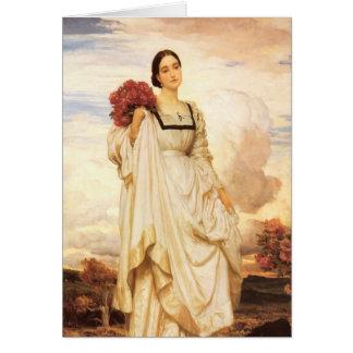 The Countess Brownlow, Frederic Leighton Card